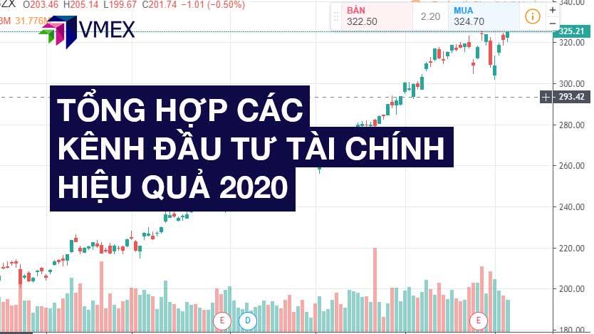 tổng hợp các kênh đầu tư tài chính hiệu quả năm 2020