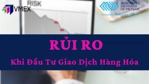 rủi ro khi giao dịch hàng hóa